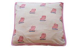 Two Sided Owl Cushions  by MUNY