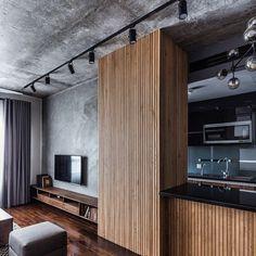 Ideas Apartment Architecture Design Loft For 2019 Interior Design Living Room, Living Room Designs, Design Interiors, Urban Interior Design, Modern Apartment Design, Modern Interiors, Appartement Design Studio, Apartment Interior, Family Apartment