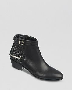 Sam Edelman Booties - Porter Quilted Back | Bloomingdale's