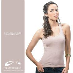 Blusa Regata Rudo / Referência: 6911 / Disponível nas cores: Bege, Preto, Branco, Roxo, Verde e Vermelho.