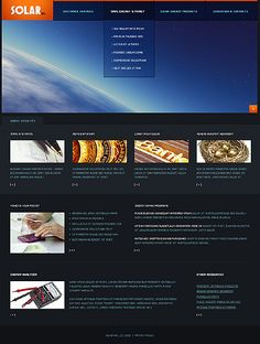 Solar Energy Website Templates by Astra