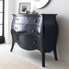 LOVE this Avery Bombe Chest from Crate and Barrel