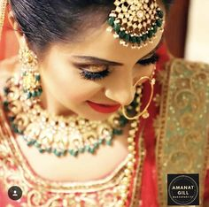 Pinterest • @bhavi91 Sikh Bride, Royal Brides, Diaries, Elegant, Earrings, Wedding, Beautiful, Jewelry, Fashion