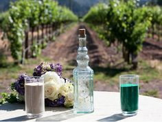 Sand ceremony, Harvest Inn, Napa, CA by Indigo Photography