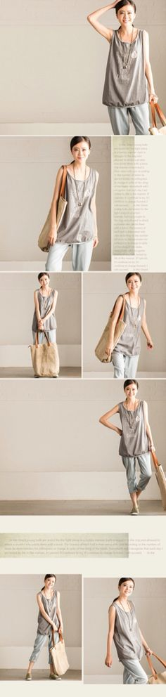 Gray summer vest women clothes holiday clothes sexy blouse