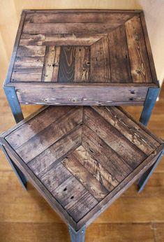 table basse avec palette