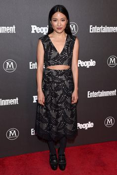 Constance Wu Photos - Actress Constance Wu attends the Entertainment Weekly & People Upfronts party 2016 at Cedar Lake on May 2016 in New York City. Fresh Off The Boat, Constance Wu, Entertainment Weekly, Spotlight, Snapchat, Red Carpet, Awards, Two Piece Skirt Set, Entertaining