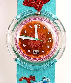 POP Swatch Specials Soupe de Poisson uitvoering Swatch / Zwitserland 1992 in originele verpakking