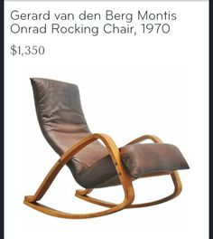 Rocking chair from 1st dibs