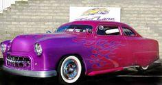 1949 Ford Tudor Coupe Full Custom Old School Lead Sled. Classic Hot Rod, Classic Cars, Ford, Tudor, New Car Wallpaper, Audi Cars, Disney Cars, Custom Cars, Cars For Sale