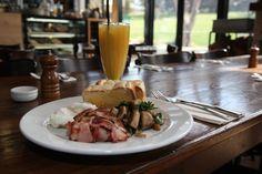 Breakfast at the Alpine Larder