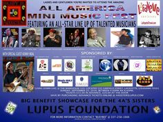 Looking to come to a great event for a great cause? We want see you on Sept 25th in Lafayette Louisiana  for the All American Mini Music Festival sponsored by the 4Sisters. Help us to continue to raise awareness for #lupus See you there!! Have you booked The Duchess and band?? Call Silver (601)218-8696 or email: theduchessjureesa.music@gmail.com  #TeamDuchess #DuchessMusic #lifeofanartist #CEO #GlobalSoul #international #womeninbusiness #womeninmusic #CanISingTheBluesForYou