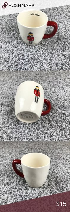 Rae Dunn New Red Nutcracker Mug Happy Holidays! This mug is brand new with a red Nutcracker! Feel free to bundle and save! Rae Dunn Accessories