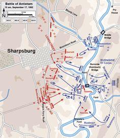Civil War Battle Maps The Battle Of Raymond Civil War - Antietam battle us map
