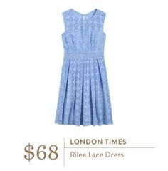 London Times Rilee Lace Dress love the style and color! Would love some sort of jacket or shrug with this!