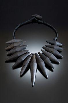 Nina Morrow's driftwood jewelry