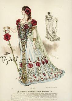 My Little Time Machine — gravesandghouls: Fancy Dress Costumes c. 1800s...