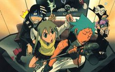 Karaoke Night. . . Warning! May include Maka elbowing Kid in the stomach, BlackStar singing, and Excalibur to randomly appear. . . .