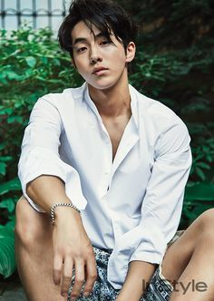 Nam Joo Hyuk captivates fans with his masculine charm in InStyle Korea's July 2016 Issue! ⋆ The latest kpop news and music Korean Star, Korean Men, Asian Men, Park Hae Jin, Park Seo Joon, Asian Actors, Korean Actors, Oppa Ya, Jong Hyuk