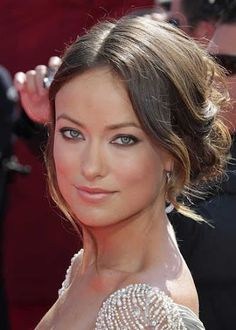 Olivia Wilde Updo Hairstyles I really like some thing such as this one