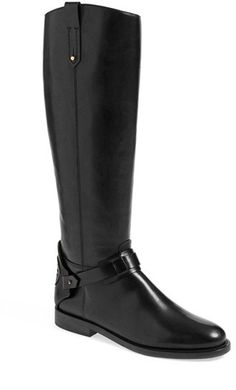 Tory Burch 'Derby' Leather Riding Boot (Women)