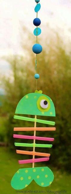 x-ray fish great craft for ocean themed activities for preschool and kindergarten