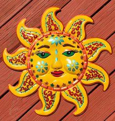 Sun Moon Stars, Sun And Stars, Moon Design, Design Art, Sun Crafts, Moon Symbols, Good Day Sunshine, Sun Designs, Acrylic Painting Lessons