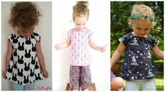 'Sofie', the free sewing pattern for size. 'Sofie', the free sewing pattern for size. is a simple tunic cut with an elastic band around the neck. Sewing Patterns For Kids, Baby Knitting Patterns, Sewing For Kids, Baby Sewing, Free Sewing, Clothing Patterns, Pattern Sewing, Baby Clothes Storage, Sewing Kids Clothes