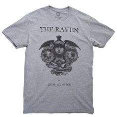The Raven book cover t-shirt