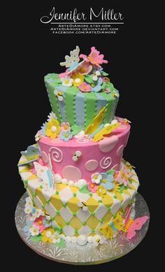 Spring Cake by ~ArteDiAmore on deviantART