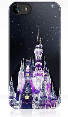 Disney Phone Case available @ http://www.redbubble.com/people/emilybeal/works/11349992-dreamy-castle