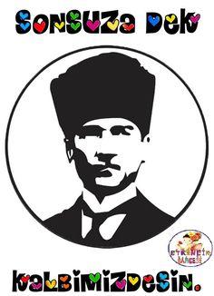 10 Kasım Atatürk' ü anma Haftası 29 Ekim Cumhuriyet Bayramı Etkinliği Disney Characters, Fictional Characters, Preschool, Disney Princess, Kid Garden, Kindergarten, Fantasy Characters, Disney Princesses, Preschools