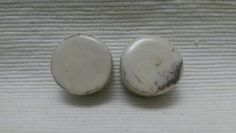 PLUGS GAUGES TUNNELS  13/16 20 mm Cream Marble by CagwinManchen