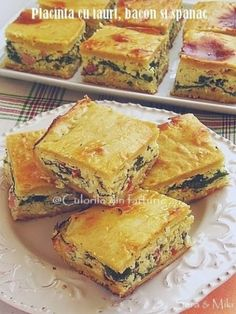 Cooking Recipes, Healthy Recipes, Healthy Food, Romanian Food, Spanakopita, Quiche, French Toast, Zucchini, Food And Drink