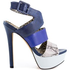 Bring out the bold in this sexy Jessica Simpson sandal.  The Ericka features a multi color sandal with a mix of colors and prints. With a triple strap vamp and adjustable closure, this style will fit just right.  A 5 1/2 inch heel and 1 1/2 inch platform complete this up to the minute sandal.
