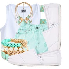 Minty Fresh, created by nenedopesauce on Polyvore
