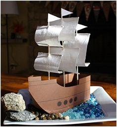 Thanksgiving Mayflower Craft for Kids Thanksgiving Crafts For Kids, Thanksgiving Decorations, Holiday Crafts, School Projects, Projects For Kids, Craft Projects, Sewing Projects, Ship Craft, Boat Crafts