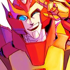 Such bae #transformers #transformersidw #transformersmtmte #autobot #autobots #rodimusprime #rodimus #prime #Peace #Bae