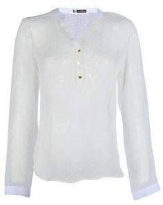 CAMISA BRANCA - Feminina - Camisas - Anne Kanner - Classic | Riachuelo - Patrocinadora Oficial da Moda