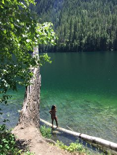 #travel #okanagan #britishcolumbia #canada Travel Deals, Travel Destinations, Echo Lake, Crystal Clear Water, Canada Travel, Hiking Trails, British Columbia, Places To Go, Beautiful Pictures