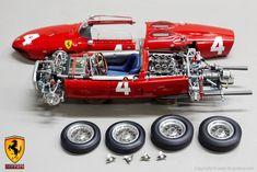 CMC 1:18 Ferrari F156 Sharknose