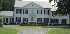 This historical house is on Fayetteville Road in Rockingham NC, Richmond County