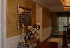 Faux Painting Your Walls - Venetian plaster, glaze, Tuscan, contempory finish