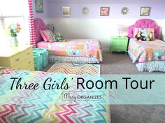 We chose a home with plenty of bedrooms, and it is a good thing, because we have lots of uses for them! When we moved into this home, each of the three girls had their own room, and then when we ma...