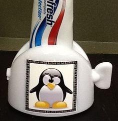 Penguin!! How cute is he???