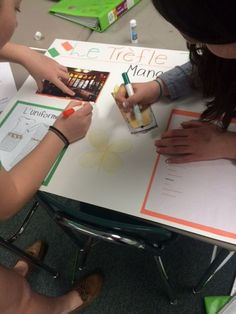 Foreign Language Class Group Speaking Project for a Food Unit