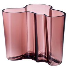 iittala Aalto Mauve/Purple Vase.