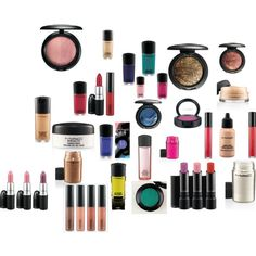 Mac Makeup, created by rubysalon on Polyvore