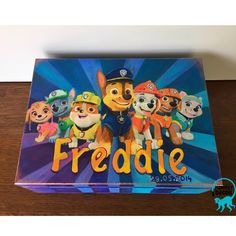 Monkey Decorations, Baby Boy Gifts, Treasure Boxes, Paw Patrol, Decoupage, Painting, Fictional Characters, Instagram, Art