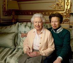 My Favorite Sanctuary - Queen Elizabeth II with Princess Anne